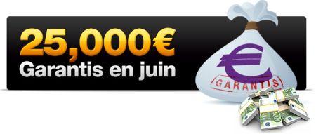 25 000 € garantis sur Chilipoker